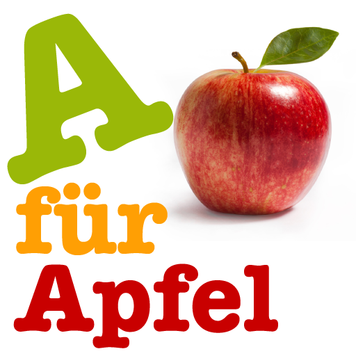 A für Apfel