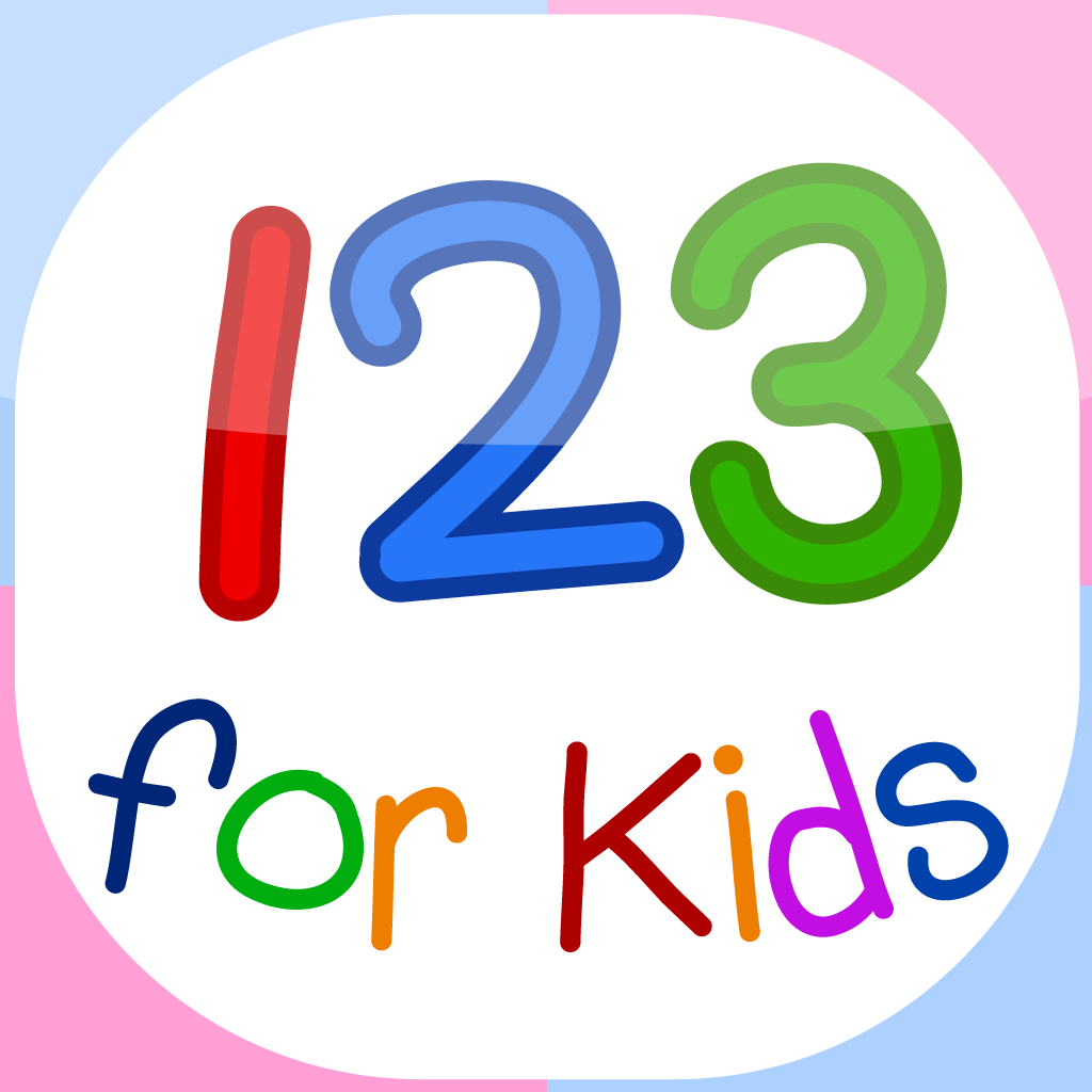 123 for kids - Numbers Flashcards for Montessori and Kindergarten kids