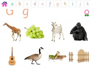 Alphabets Vocabulary book for Kids