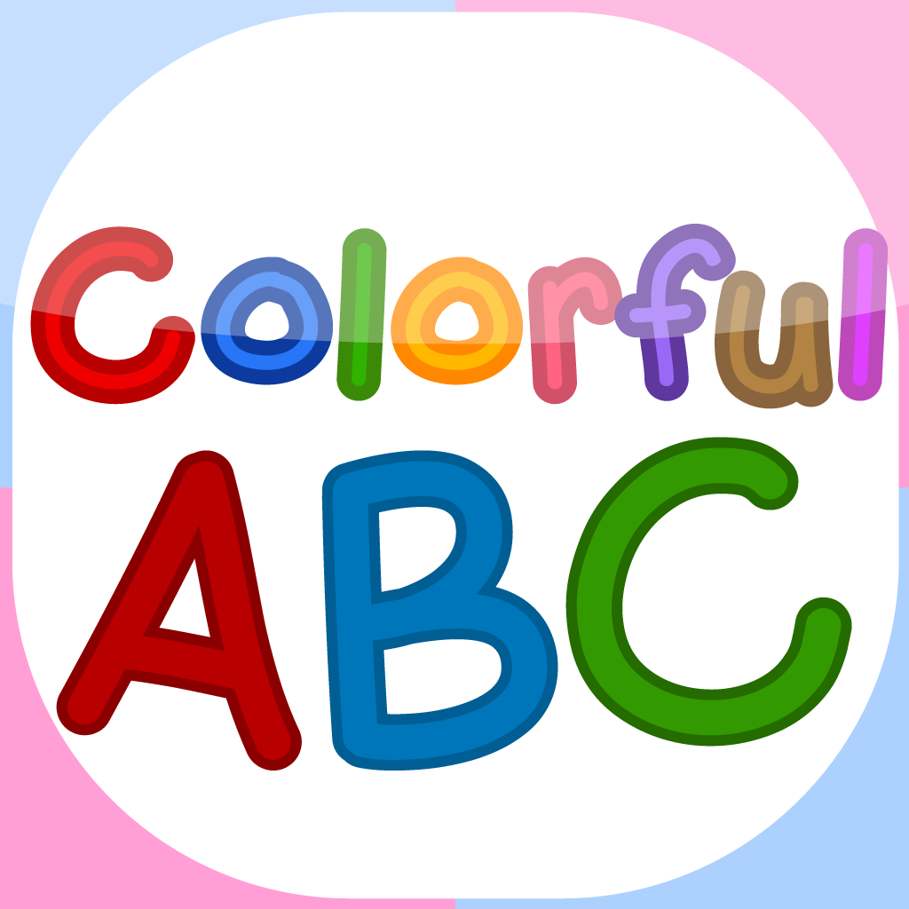 Colorful ABC - Flashcards