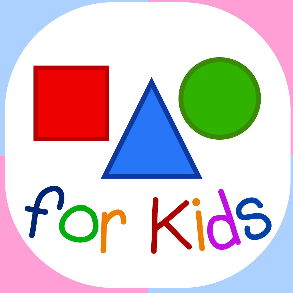 Shapes For Kids - Basic Shapes Flashcards