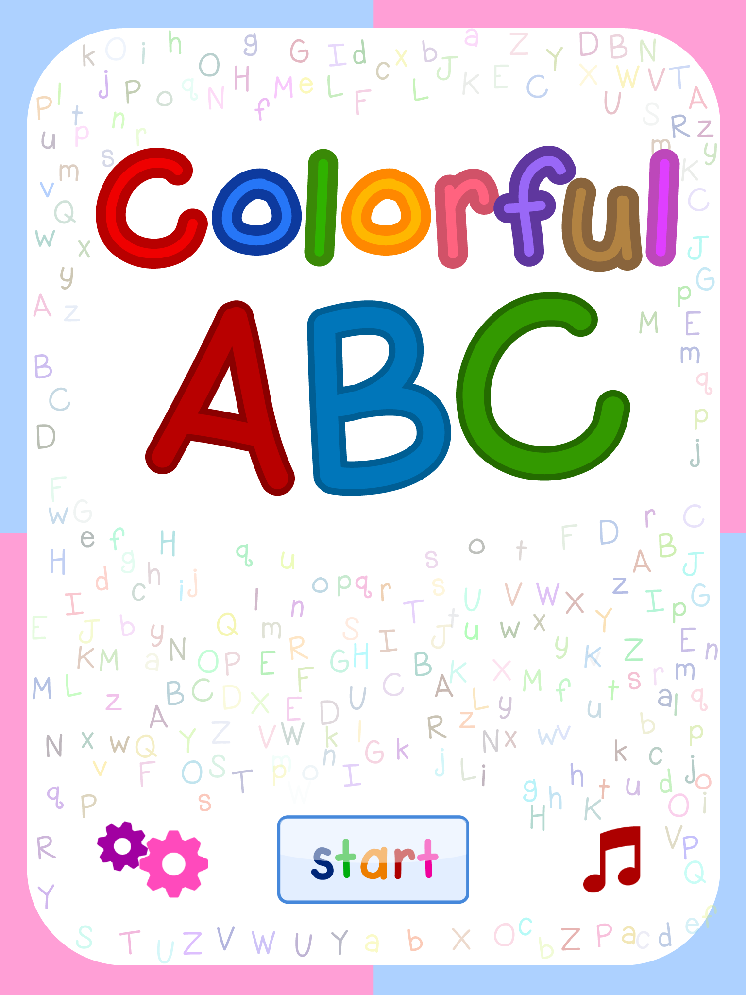 ABC Song - Alphabet Song with Action & Touch Sound Effect