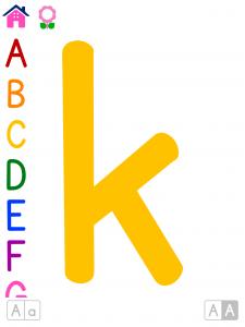 ABC Colorido | Flashcards alfabéticas para niños en jardín de infante