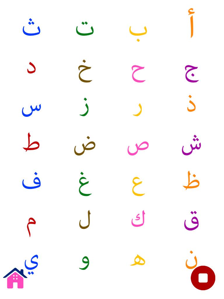 أ أرنب (بطاقات تعليمية للحروف الأبجدية للأطفال في مرحلة ما قبل الدراسة)