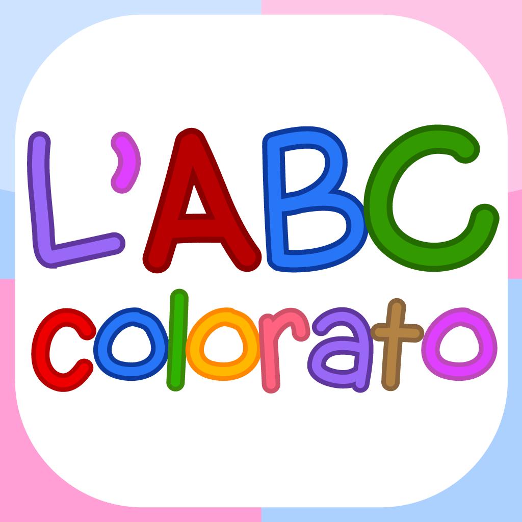 L'ABC colorato | Flashcards sull'alfabeto per bambini della scuola materna