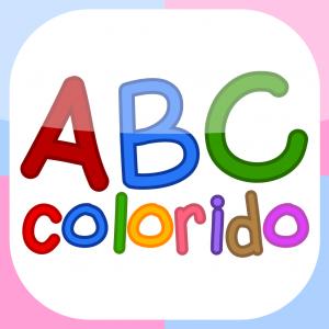 ABC Colorido   Flashcards alfabéticas para niños en jardín de infante