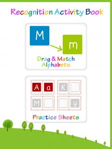 Alphabet recognition assessment