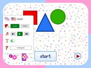 Flashcards app for preschooler