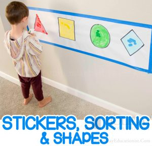 Shape recognition activities