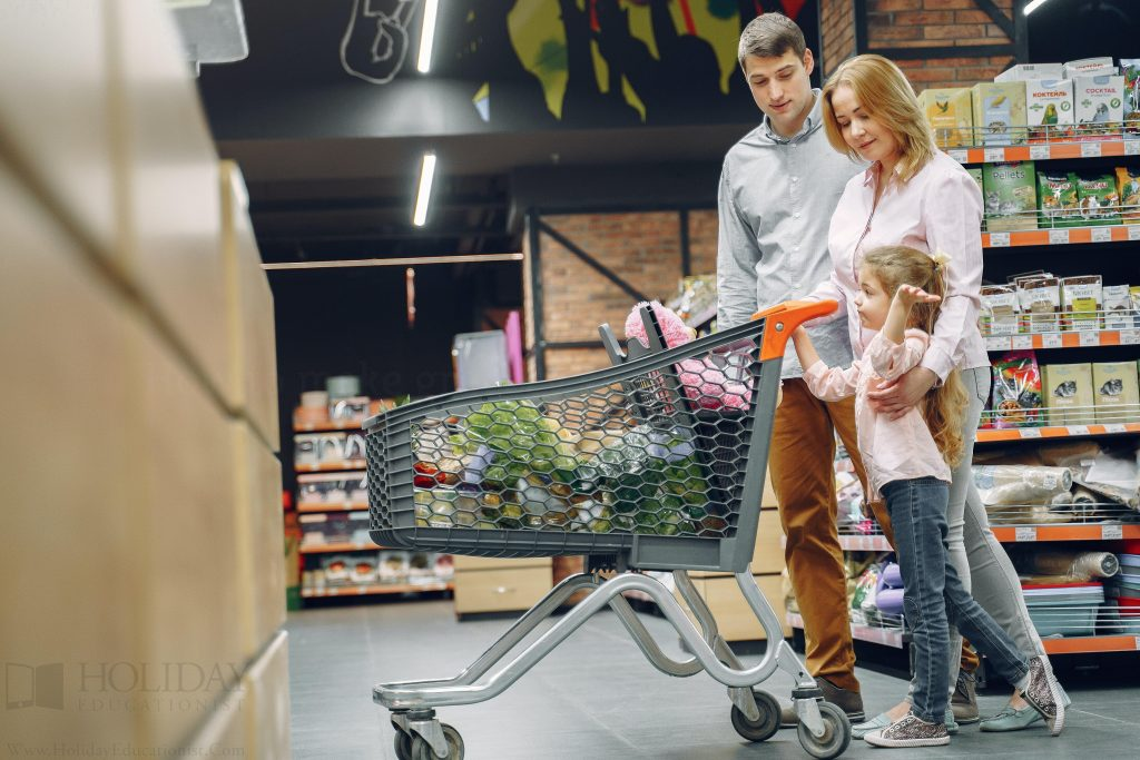 How to make grocery shopping fun for kids