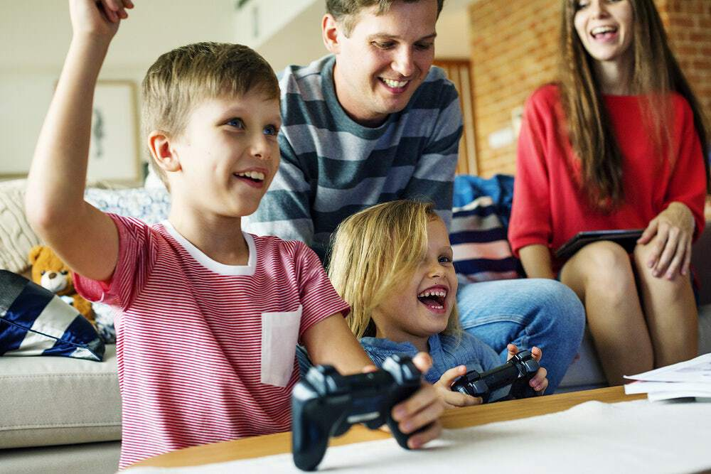 positive effects of games on your child