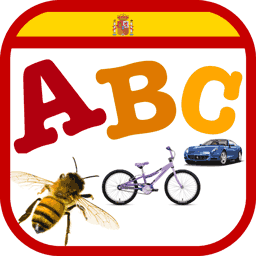 A de Ananá Flashcards alfabéticas para niños de preescolar