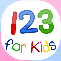 123 for kids numbers flashcards