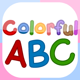 Colorful ABC | Alphabet Flashcard for Kindergarten Kids